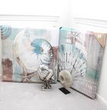 assortment of shell home decor ebth