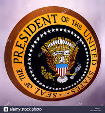 Presidents Of The United States Seal Of The President Of The United States At The United States