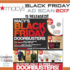 the macy black friday ad 2017 is released plus promo codes