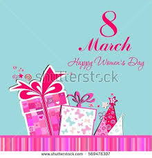 s day card boxes 8 march womens day card celebration stock illustration 569478307