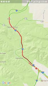 Traffic Map Los Angeles by Tractor Trailer Fire In Cajon Pass Snarls 15 Freeway Traffic For
