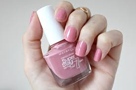 maybelline superstay 7 day gel nail polish rose beauty