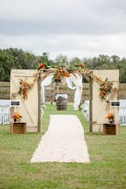 Wedding Backdrop Rustic 35 Totally Ingenious Rustic Outdoor Barn Wedding Ideas Sunflower
