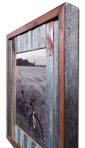 picture frame barn wood rustic 8x10 frame