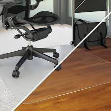 Laminate Floor Protectors Amazon Com Deflecto Duomat Multi Purpose Chairmat For Carpets Or
