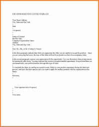 Rejection Letter Recruitment Agency employment rejection letter template uk granitestateartsmarket