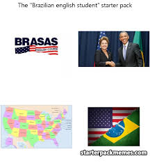 English Student Meme - the best of starter pack memes brazilian english student