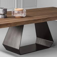 esstisch design bonaldo amond designer esstisch mit stahlgestell emporium mobili de
