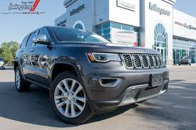 jeep cherokee grey 2017 used 2017 jeep grand cherokee grey in toronto on stock w41387