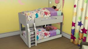 Toddlers Bunk Bed The Sims 4 Mods Functional Toddler Objects Sims Community