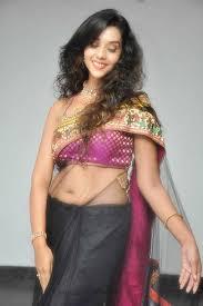 potugadu anu in transparent saree stills