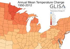 Map Of Great Lakes Great Lakes Climate Divisions Glisa