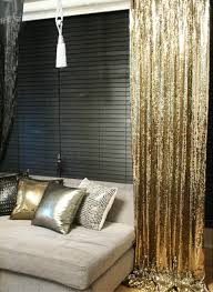 Made To Measure Drapes Order To Made Gold Sequins Beaded Curtains Drapery Panel Roon