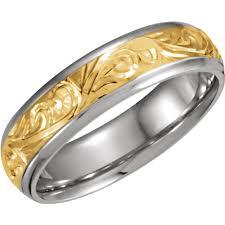 hand engraved wedding bands my wedding band
