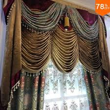Discount Curtains And Valances Find More Curtains Information About 3d Spark Flower Pattern The
