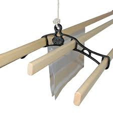 premium cast in style ceiling mounted pulley clothing airier