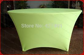 Spandex Table Cover Aliexpress Com Buy Neon Green Lycra Spandex Table Cover