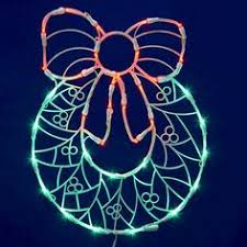 Holographic Christmas Window Decorations by 17 Lighted Led Reindeer Christmas Window Silhouette Decoration