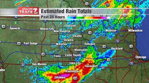 Map Of Cedar Falls Iowa Precipitation Totals Schnack U0027s Weather Blog