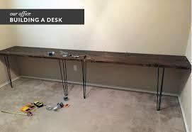 Diy Work Desk Guest Post Diy Desk Building Of The Great Goodness