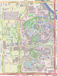 Disney Monorail Map File Map Of Disneyland Svg Wikimedia Commons