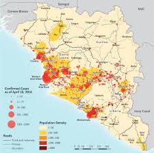 Map Of Sierra Leone After Ebola In West Africa U2014 Unpredictable Risks Preventable