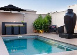 Backyard Pools Prices Concrete Or Fibreglass Pool Donehues Leisure