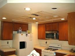 B Q Kitchen Lighting Ceiling Fluorescent Kitchen Lighting Bay Modern Glass Fluorescent Flush