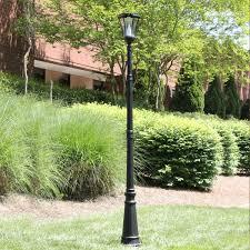 Motion Sensor Exterior Light Fixtures by Victorian Pir Series U2013 Solar Lamp Post With Motion Sensor Gs 94pir