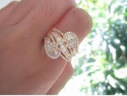 diamond earrings philippines 5 09 carat diamond yellow gold earrings ring set 18k jewelry
