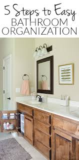 how to organize the sink cabinet sink organizing in 5 easy steps bathroom side 2