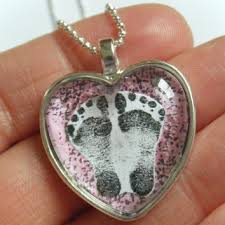 footprint necklace personalized shop baby footprint necklace on wanelo