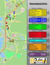 Map Of Orlando by Key Card Advertising For Active Hotels