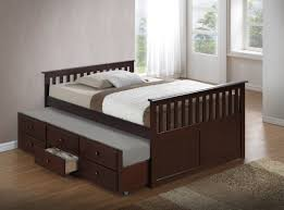 Captains Bed Bedroom Captains Bed With Trundle For Bring Style And