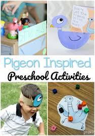 pigeon activities for preschoolers pre k pages