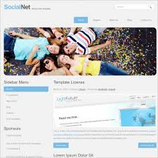 templates for asp net web pages download free templates for website in asp net social net template