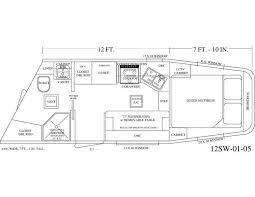 horse trailer living quarter floor plans photo outback rv floor plans images cer trailer floor