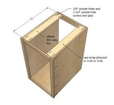 How To Build A Base Cabinet by Kitchen Base Cabinet Carcasses It Will Be Nice To Build These Up