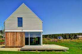 minimalist barn inspired home was built as a