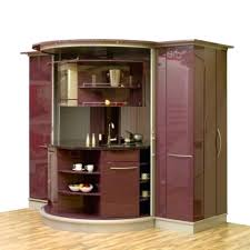 space saving ideas for small kitchens with purple cabinetunder
