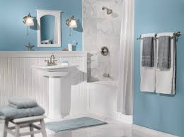 white blue bathroom design idea pictures photos images light