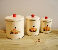 kitchen canisters white four piece german blue onion kitchen