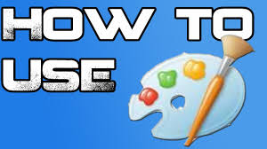 how to use microsoft paint youtube