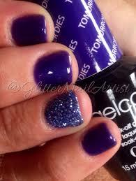 glitternailartist winter nails loose glitter opi gelcolor gel
