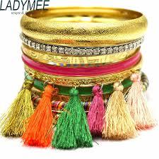 multi metal bracelet images Buy ladymee bracelets bangles gold color metal jpg