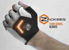 bike gloves zackees turn signal cycling gloves