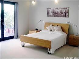 Bamboo Platform Bed Aluminum Bed Frame Glendon Good