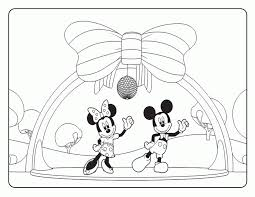 mickey and minnie mouse coloring pages to print for free