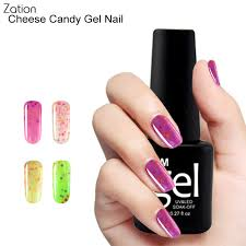 zation cheese nail gel ice cream color nail polish candy colorful