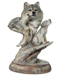 family song wolf family mill creek figurines